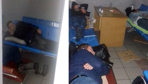 Ukrayna Havalimanı'nda Türklere kötü muamele iddiası