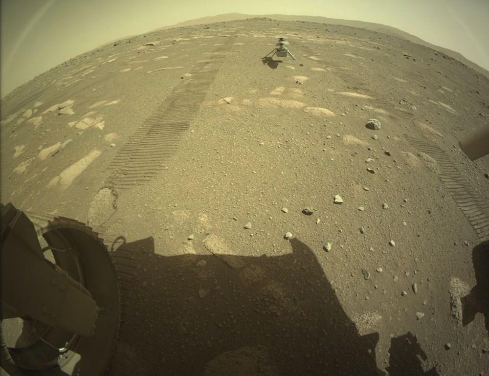 Ingenuity, Mars'tan ilk renkli fotoğrafı gönderdi - 3