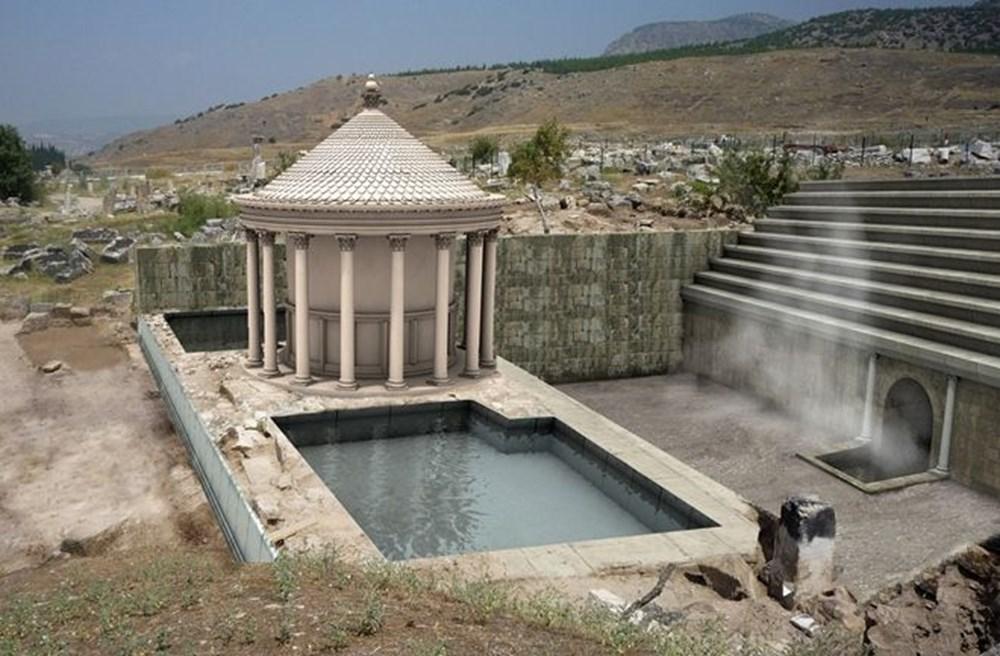 Türkiye'nin 'cehenneme' açılan  kapısının binlerce yıllık sırrı keşfedildi - 7