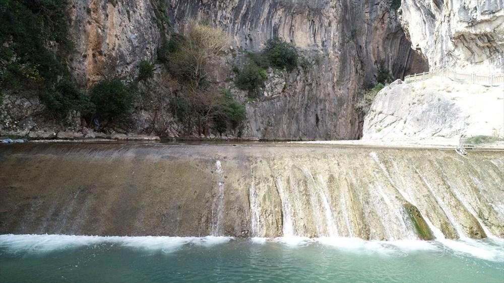 Adana'da mavi ile yeşili buluşturan Kapıkaya Kanyonu doğaseverleri bekliyor - 7