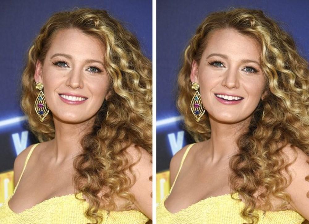 Bir dişin ünlülerin yüz ifadesini ne kadar değiştirebileceğini gösteren fotoğraflar - 10