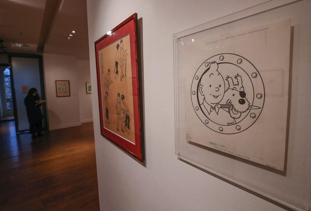 Herge'in Tenten çizimine Paris'te 2,6 milyon euro'luk rekor fiyat - 5