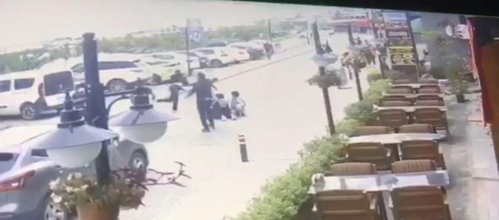 İstanbul'da eşini döven adama meydan dayağı - 5