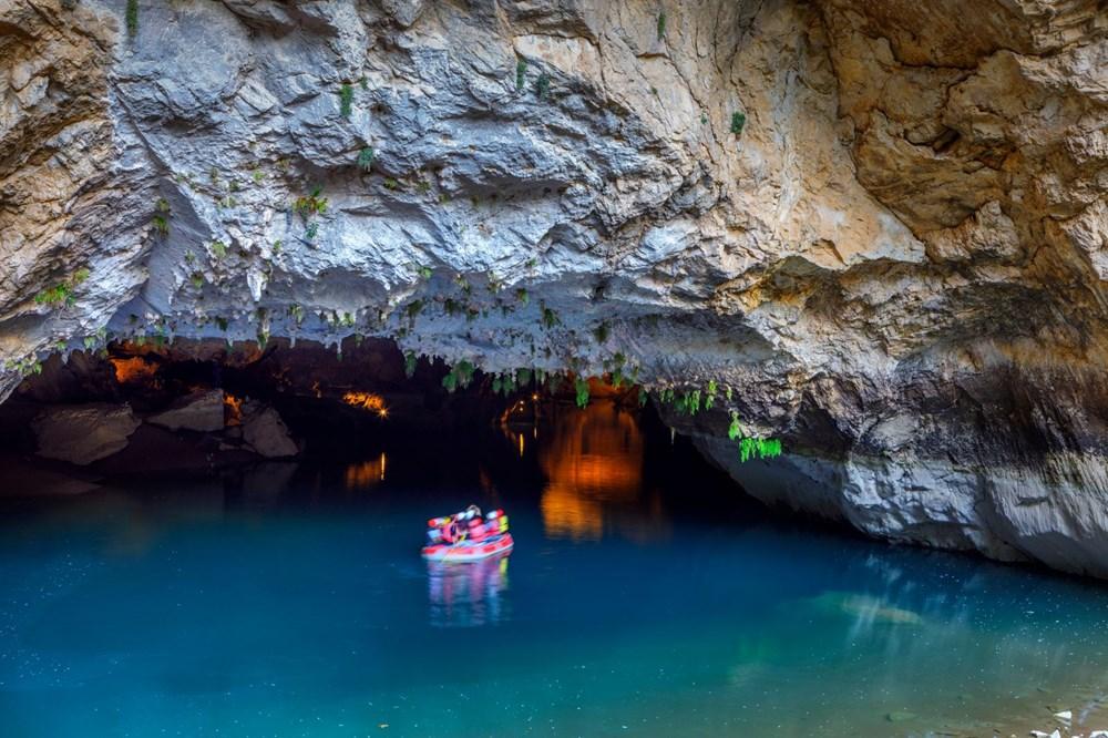 Türkiye'nin en büyük yeraltı gölü: Altınbeşik Mağarası - 5