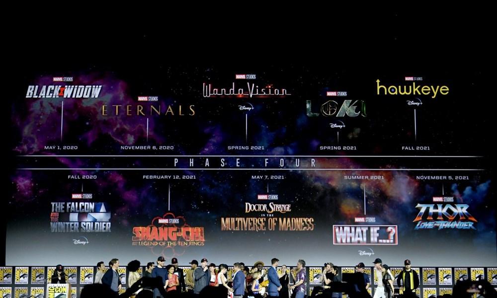 Marvel filmlerinin yeni takvimi açıklandı - 14