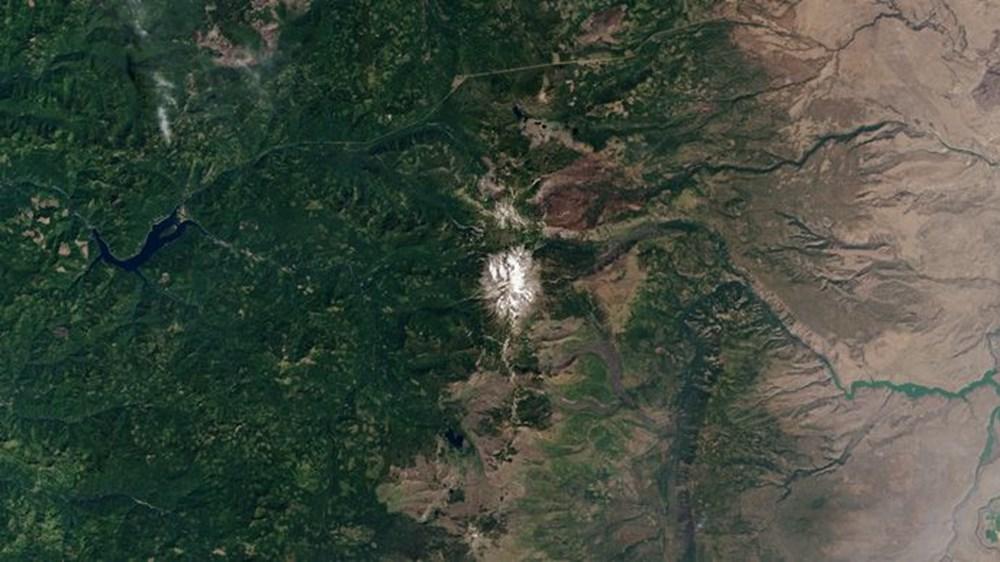 NASA Trump'ın 'büyük felaket' ilan ettiği yangınların uydu görüntülerini yayınladı - 21