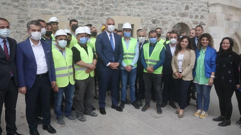 Sümela Manastırı 5 yıl sonra ziyarete açıldı - 10