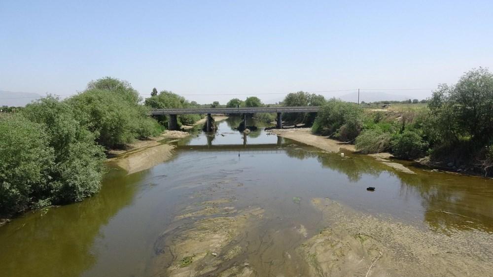 Büyük Menderes Nehri kurudu - 10