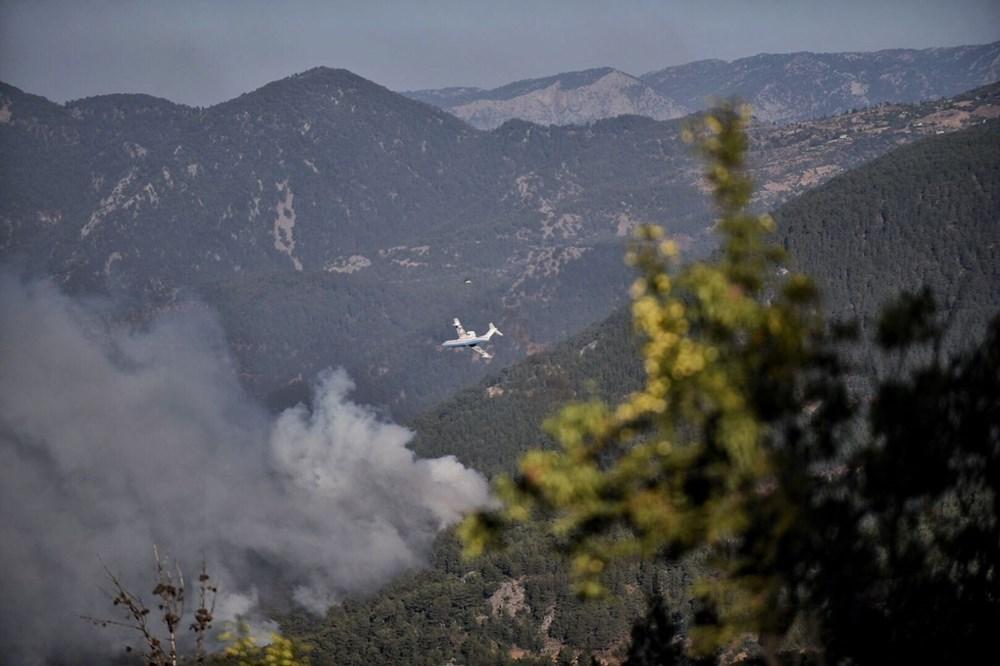 Hatay ve Mersin'de orman yangını - 3