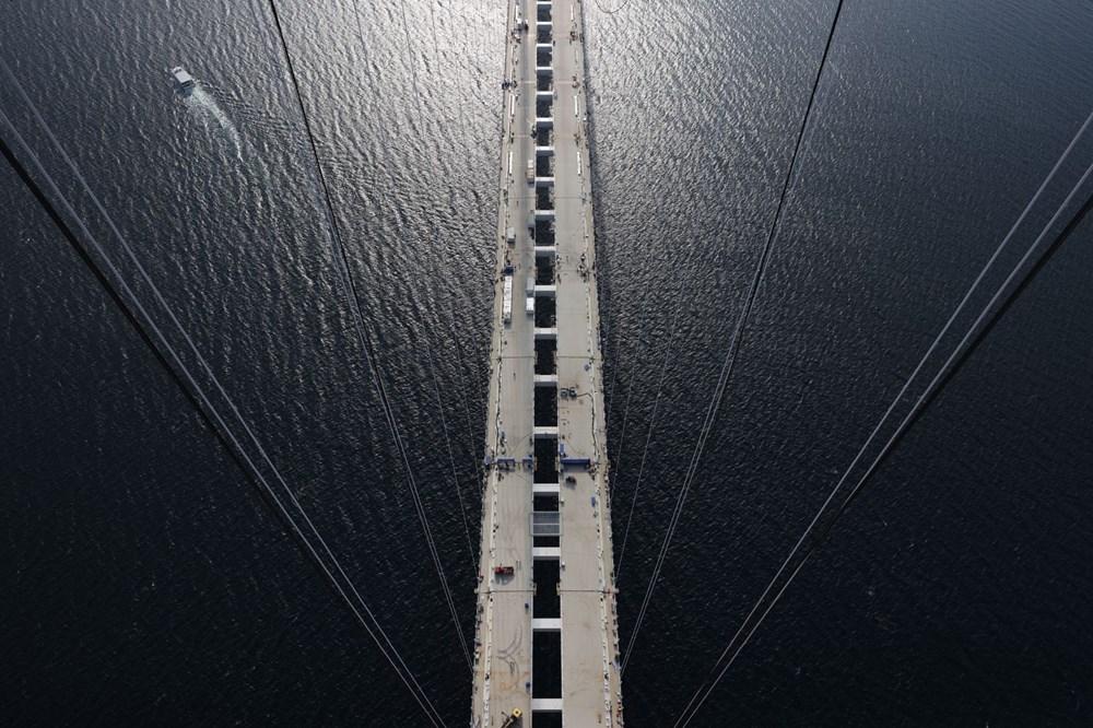 Bakan 1915 Çanakkale Köprüsü üzerinden Anadolu'dan Avrupa'ya geçti - 6
