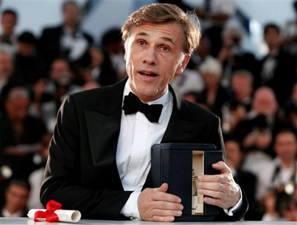 Christoph Waltz, filmde Nazi albayı Hans Landa'yı canlandırdı.