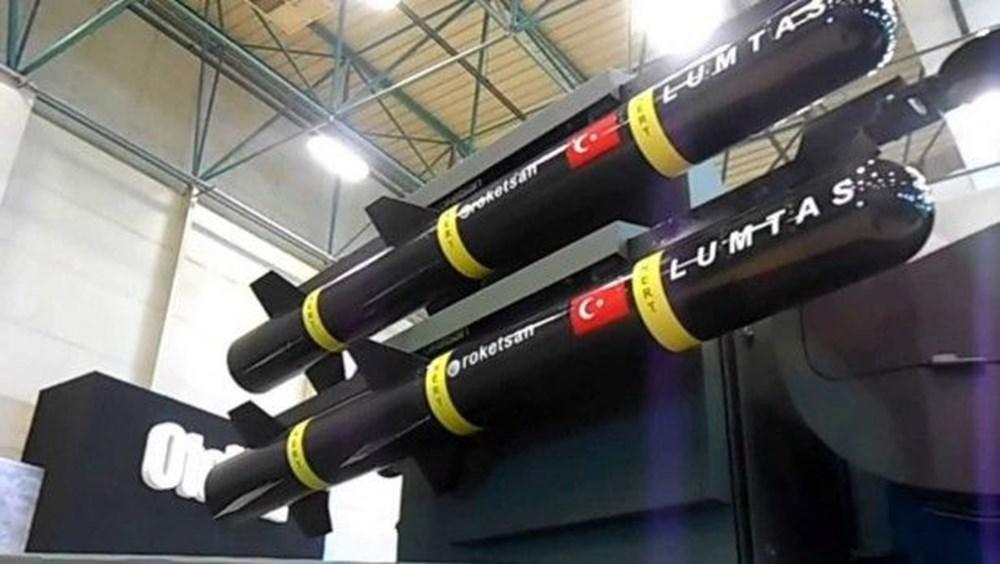 TSK'nın yeni roketatarı 12'den vurdu - 175