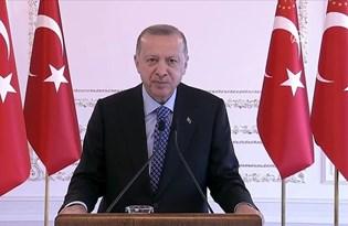 Cumhurbaşkanı Erdoğan: Doğu Akdeniz'deki gelişmeleri tribünden izlememiz mümkün değil
