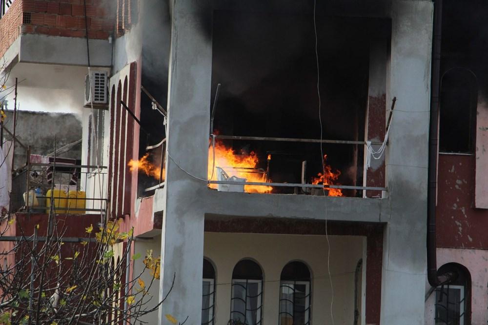 Antalya'da ağlatan yangın - 2