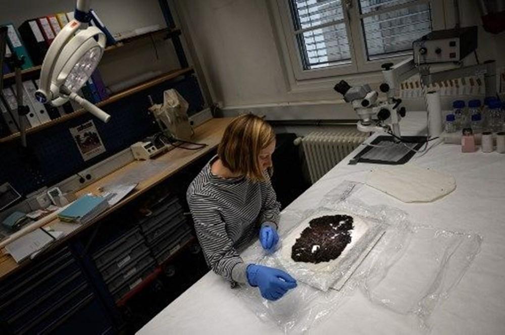 Alp Buzulları'nın erimesiyle 9 bin 500 yıllık tarihi eserler ortaya çıktı - 6