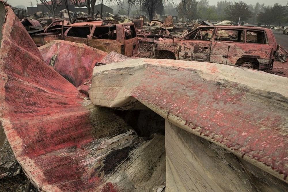 ABD'de aşırı sıcaklar nedeniyle 60'tan fazla orman yangını: Binlerce kişi tahliye edildi - 8