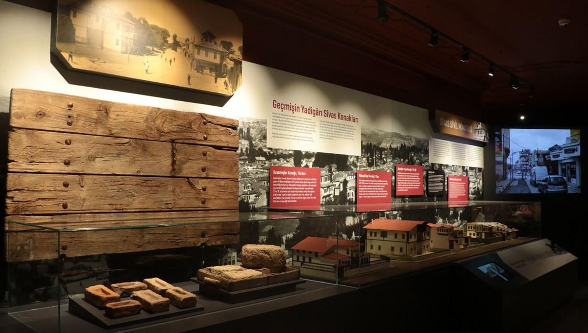 Bir şehrin hikayesi tarihi binada sergileniyor (Sivas Şehir Müzesi)