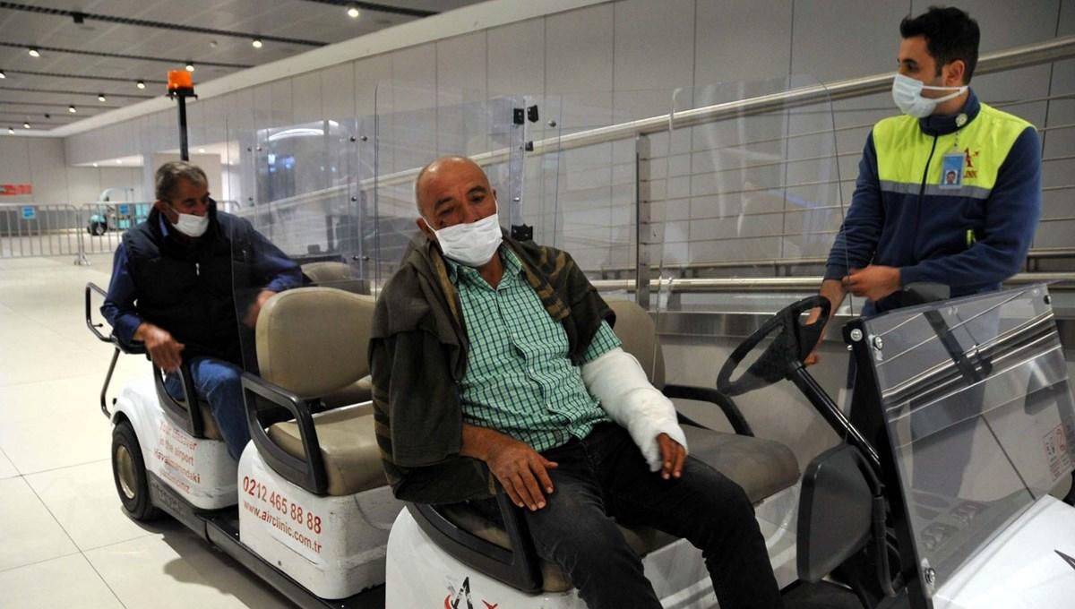 Somali'deki saldırıdan kurtulan işçiler Türkiye'ye döndü