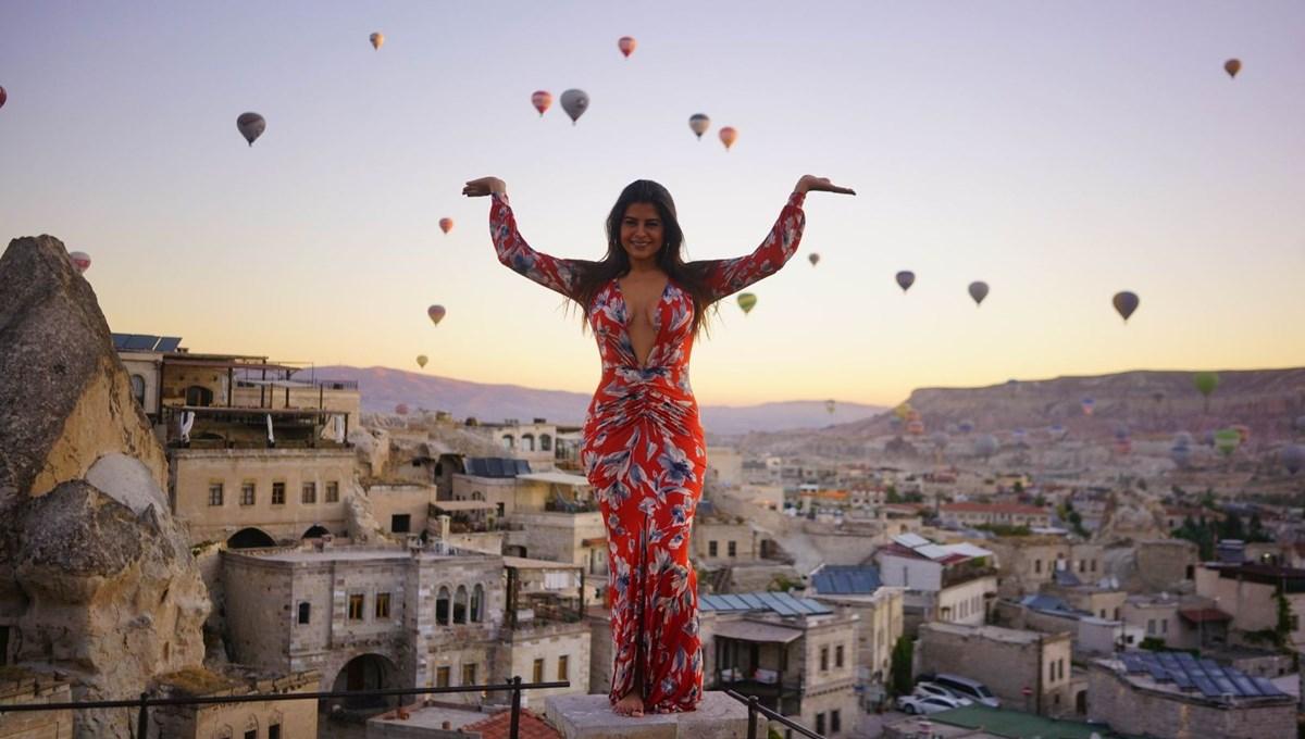 Kapadokya'yı yılın ilk 2 ayında 93 bin turist ziyaret etti