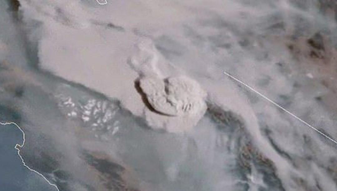 Trump'ın 'büyük felaket' ilan ettiği yangınların uydu görüntüleri yayınlandı