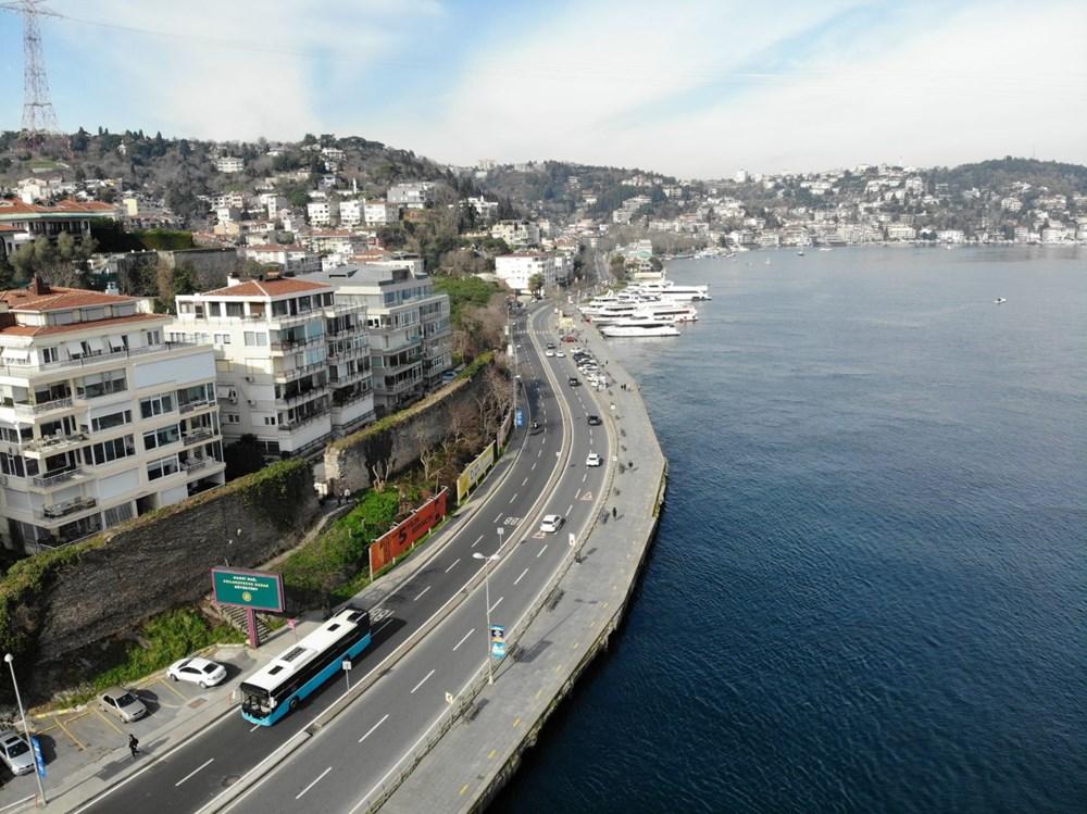 Kısıtlama yokmuş gibi! İstanbul'da sahiller doldu taştı - 13
