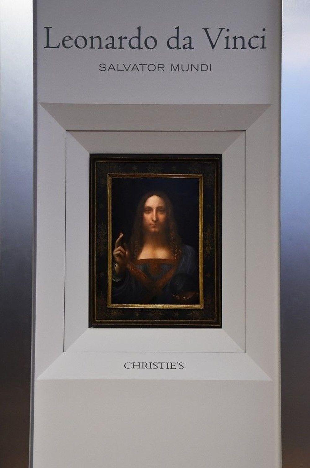 Dünyanın en pahalı tablosu olan Leonardo da Vinci'nin Salvator Mundi'si NFT olarak satışta - 4