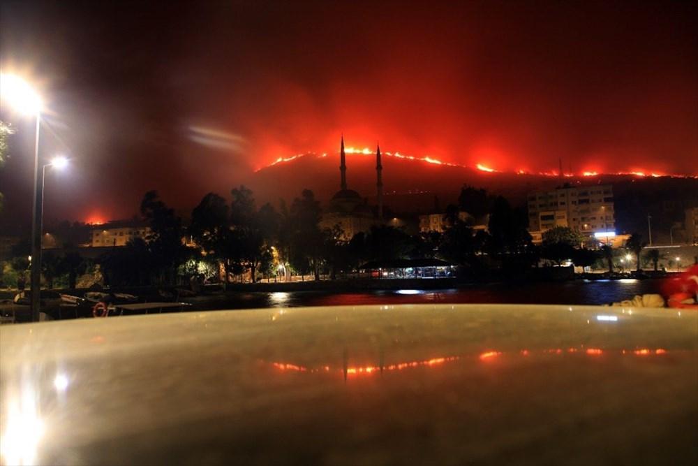 Antalya, Adana, Mersin, Aydın, Muğla, Osmaniye, Kayseri ve Manisa'da orman yangınları - 18