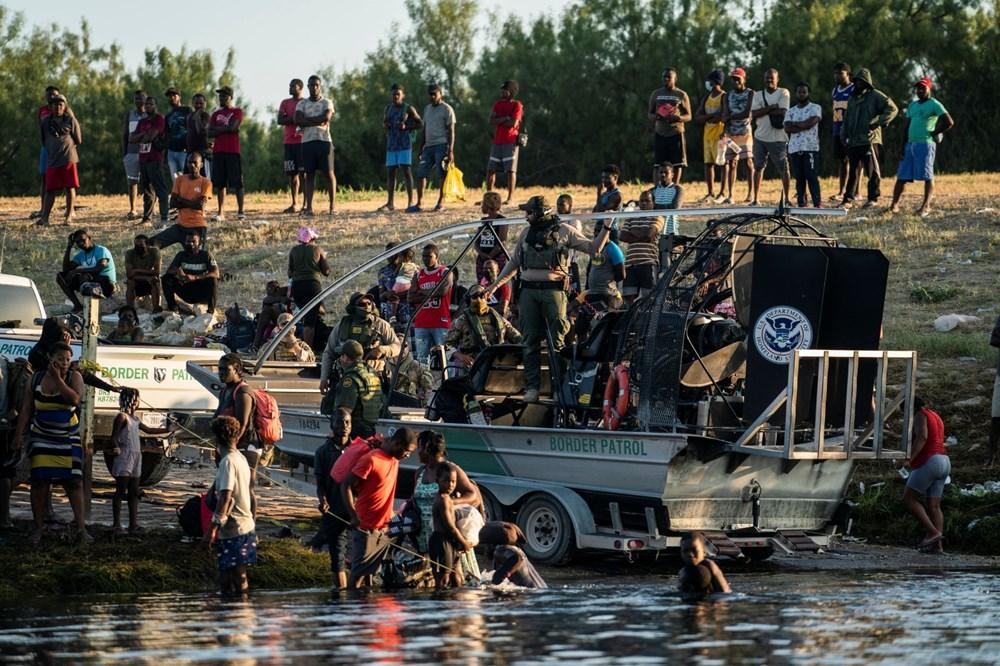 ABD'li sınır muhafızları kementlerle göçmenlere saldırdı: Beyaz Saray özür diledi - 7