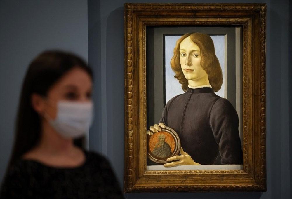 Botticelli'ye ait tablo 2021'in müzayede rekorunu kırdı: 92 milyon dolar - 3