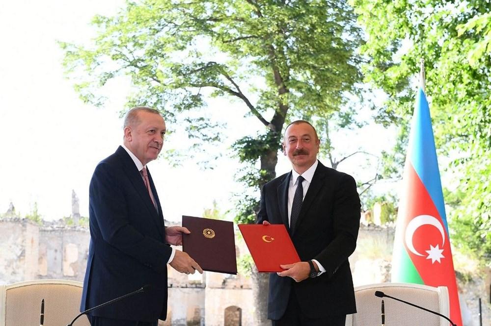 Cumhurbaşkanı Erdoğan ve Aliyev Şuşa Beyannamesi'ni imzaladı - 16