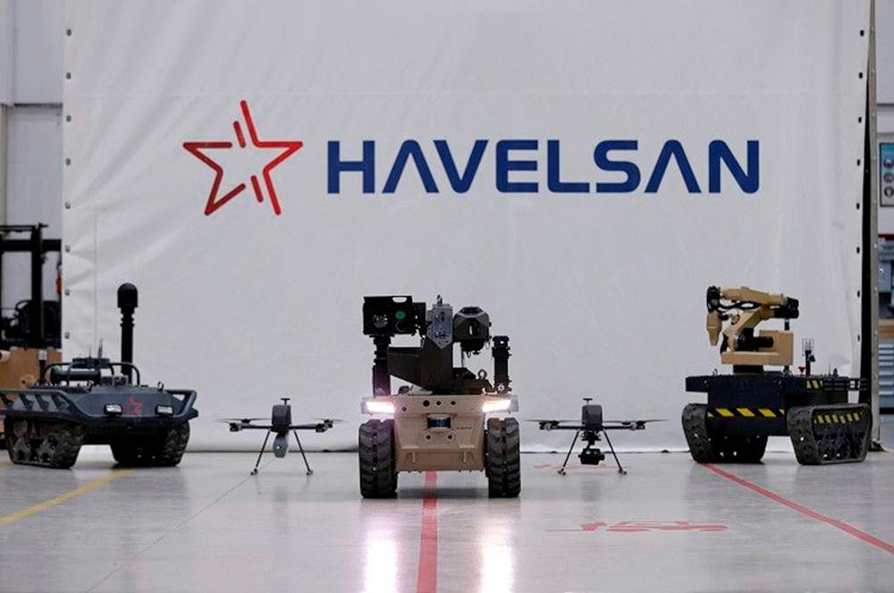 Dijital birliğin robot askeri Barkan göreve hazırlanıyor (Türkiye'nin yeni nesil yerli silahları) - 1