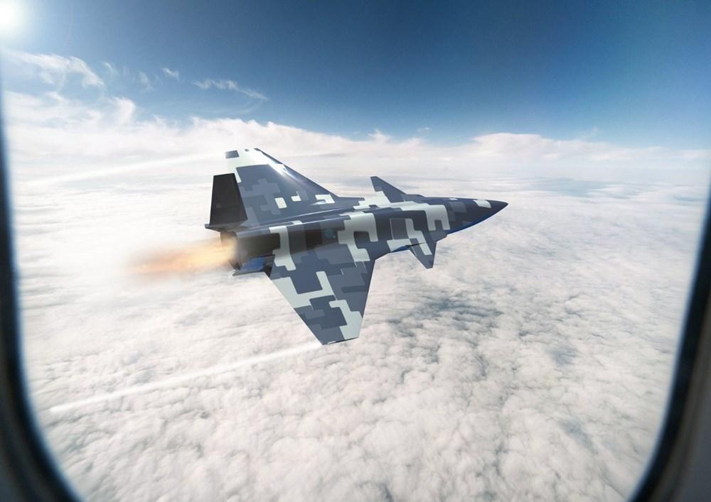 Baykar'dan insansız savaş uçağına ilişkin görsel paylaşımı - 3