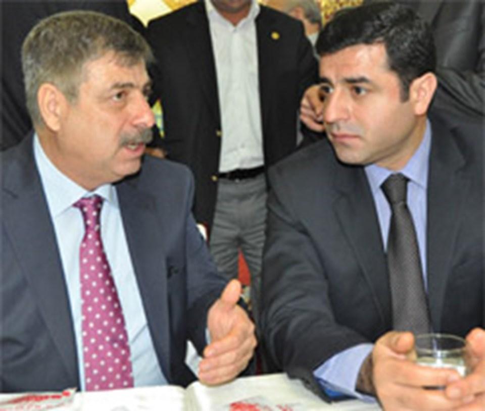 Demirtaş ve CHP İl Başkanı Ferhat Karataş
