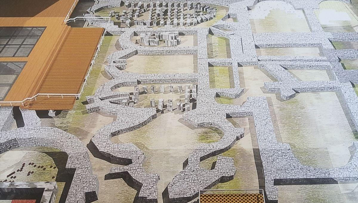 İzmir'deki Roma hamamı kalıntıları için