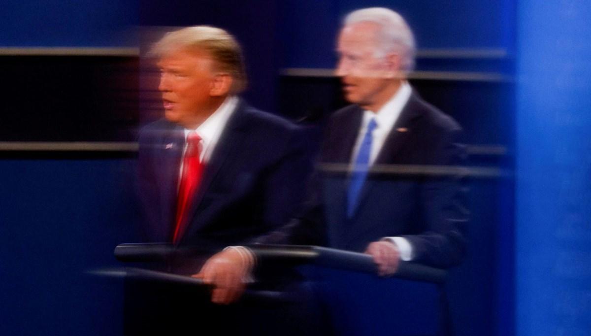 ABD'de anketlere göreBiden, Trump'ın 7,2 puan önünde
