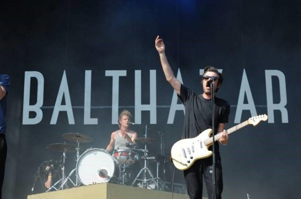 Indie pop grubu Balthazar da İstanbul'a gelecek isimler arasında.