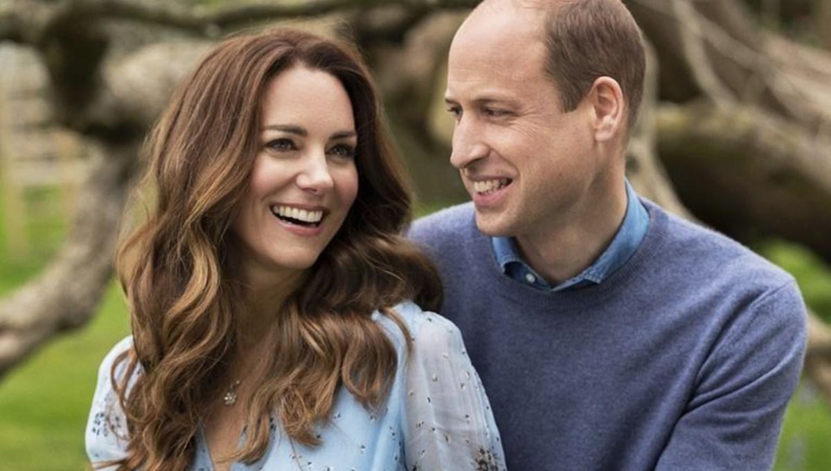 Prince William ve Kate Middleton'dan 10 yıl pozları