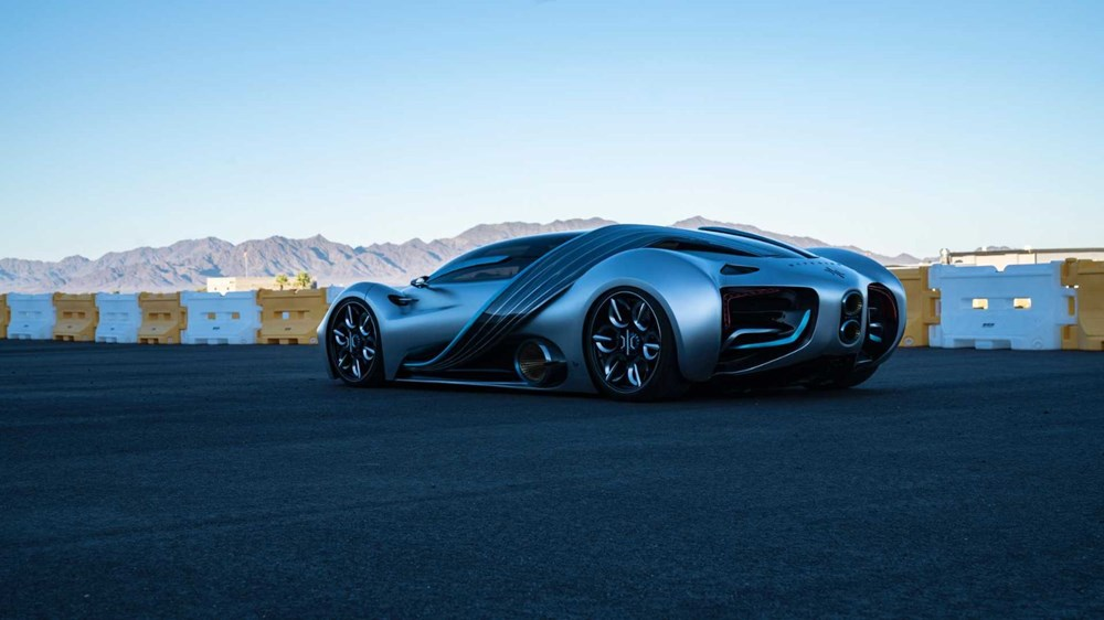 Hidrojen yakıtlı süper otomobil: Hyperion XP-1 - 10