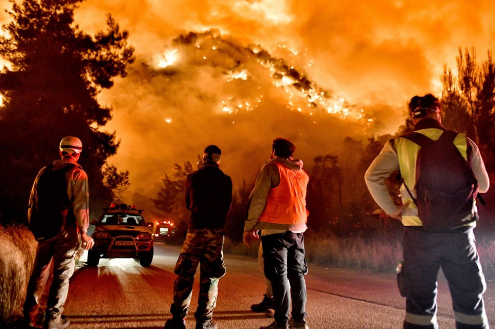 Forest fire in Greece: Extinguishing work continues - 3
