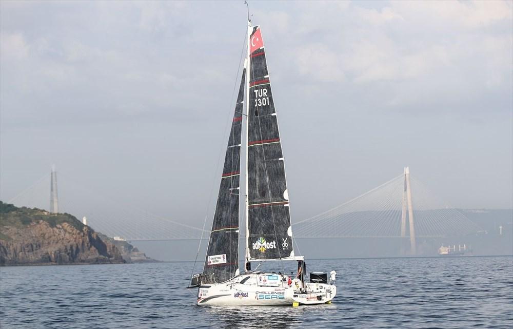 Yelkenci Tolga Pamir, rekor için Türkiye'nin 4 denizini boydan boya geziyor - 7