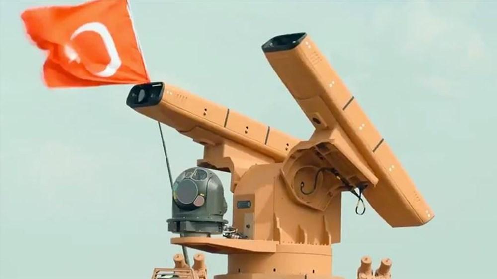 Silahlı drone Songar, askeri kara aracına entegre edildi (Türkiye'nin yeni nesil yerli silahları) - 48
