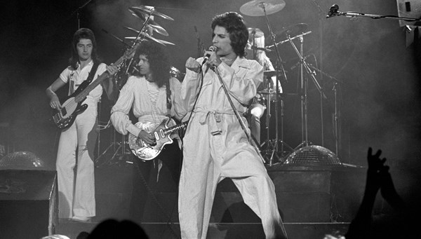 Efsane rock grubu Queen'e özel madeni para