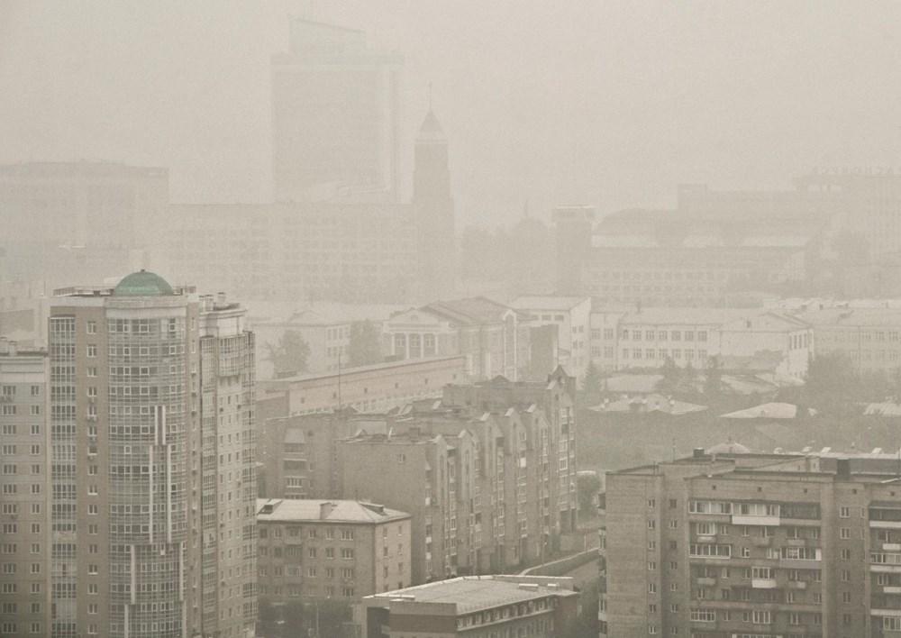 NASA duyurdu: Sibirya'daki yangınların dumanları tarihte ilk kez Kuzey Kutbu'na ulaştı - 11