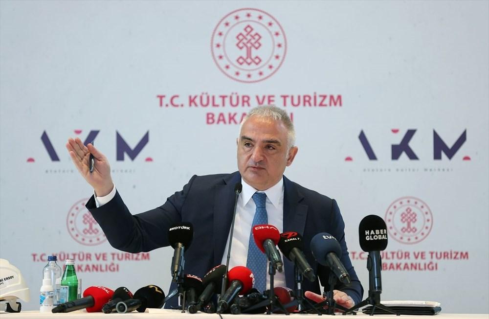 Kültür ve Turizm Bakanı Ersoy: AKM dünyadaki en önemli 10 kültür merkezi arasında yer alacak - 6