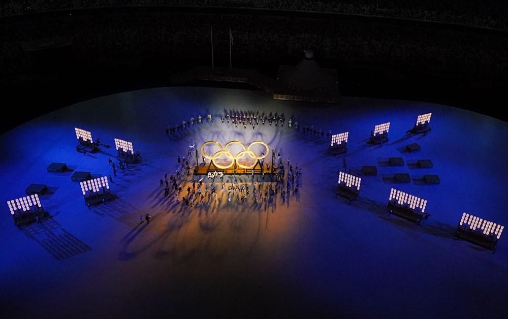 2020 Tokyo Olimpiyatları görkemli açılış töreniyle başladı - 58