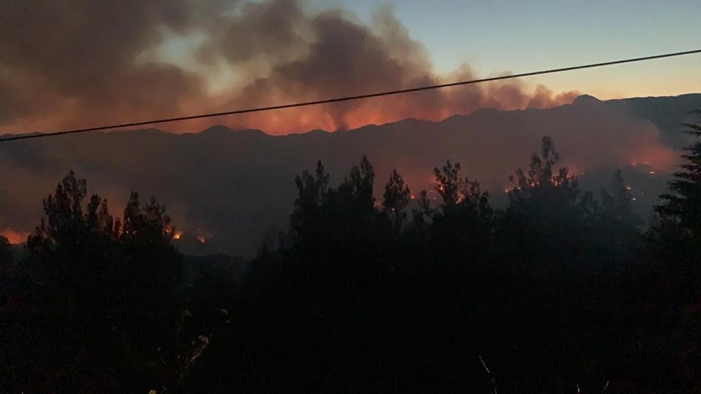 Adana'da orman yangını: 8 köy boşaltıldı - 15