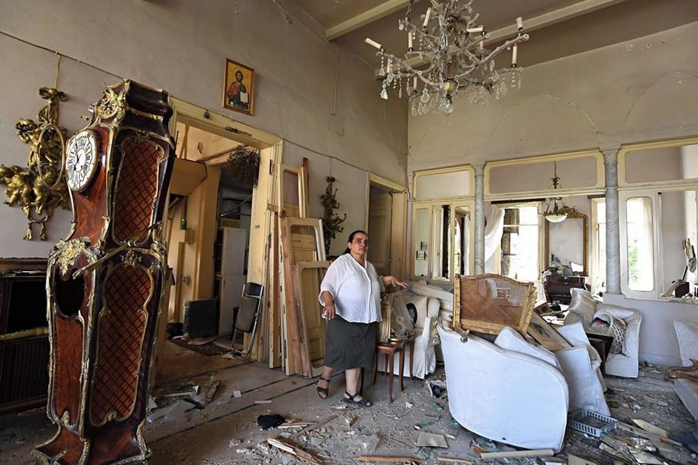 Harabelerin ortasındaki Lübnan halkı: Binlerce kişi evsiz - 8