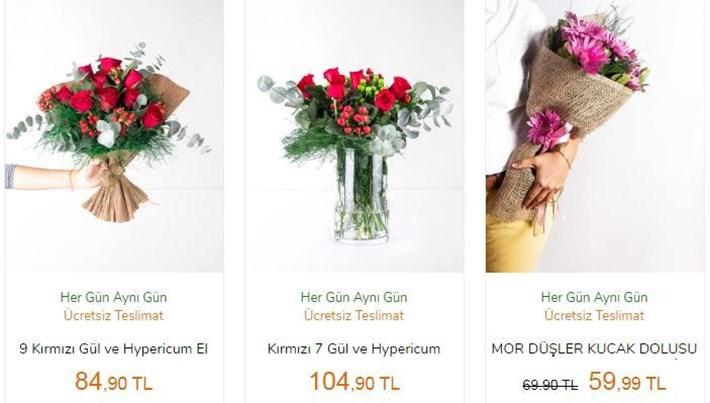 Sevgililer Günü'nde 1,5 milyon adetçiçeke-ticaret ilesatılacak