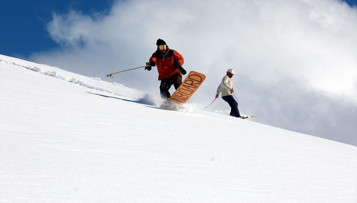 200 yıllık gelenek! Snowboard'un Karadenizli atası: Petranboard