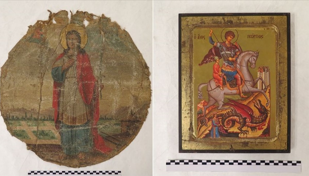 Gökçeada'dan çalınan tarihi kültür varlıkları, Fener Rum Patriği Bartholomeos'a takdim edilecek